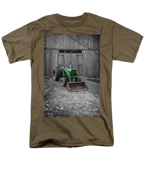 Old John Deere Tractor T-Shirt by Edward Fielding