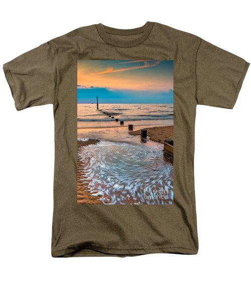 Patterns on the Beach  T-Shirt by Adrian Evans