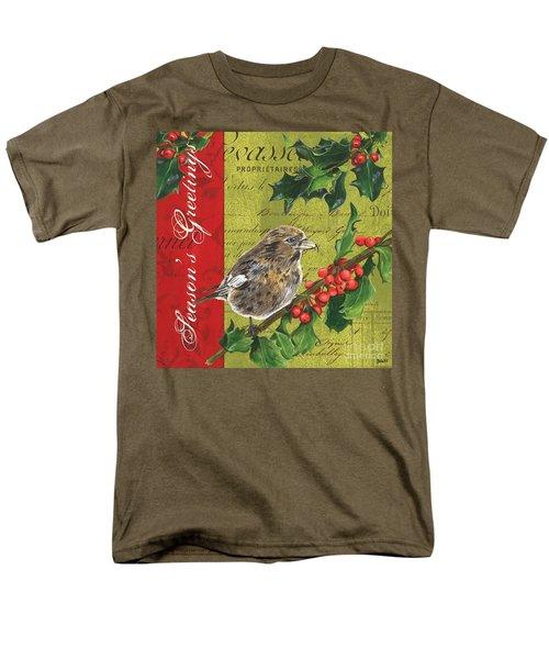 Peace On Earth 1 Men's T-Shirt  (Regular Fit) by Debbie DeWitt