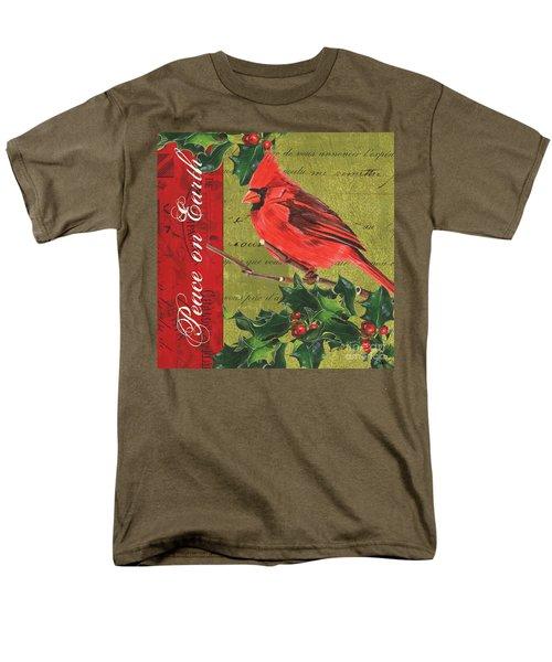 Peace on Earth 2 T-Shirt by Debbie DeWitt