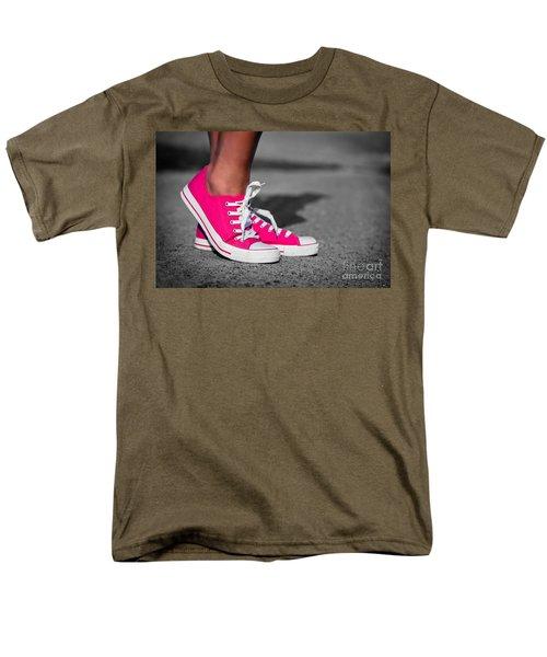 Pink sneakers  T-Shirt by Michal Bednarek