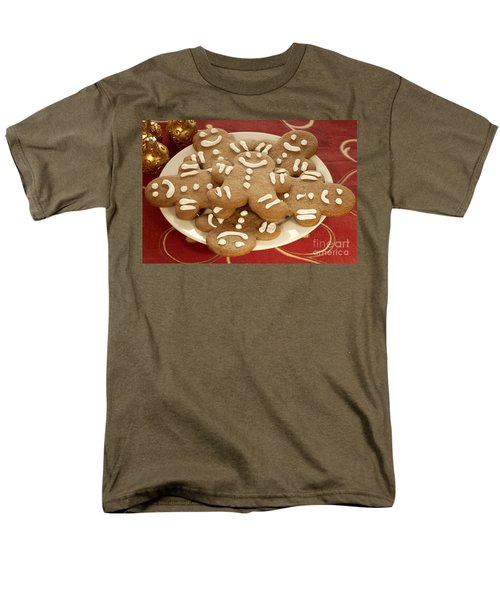 Plateful of Gingerbread Cookies T-Shirt by Juli Scalzi