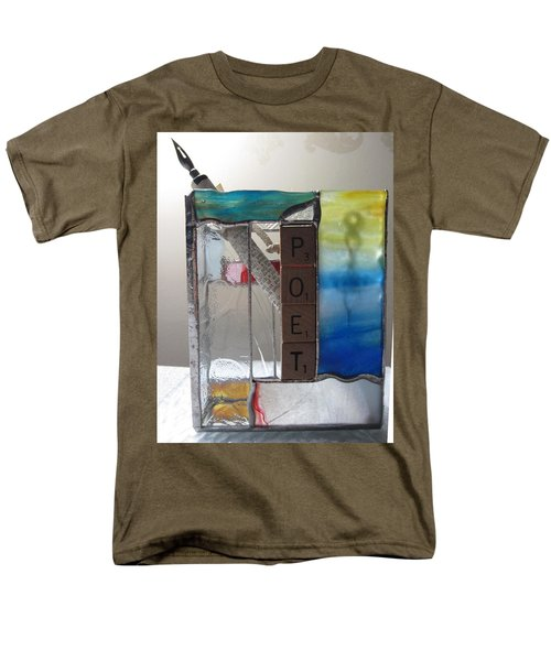 Poet Windowsill Box T-Shirt by Karin Thue