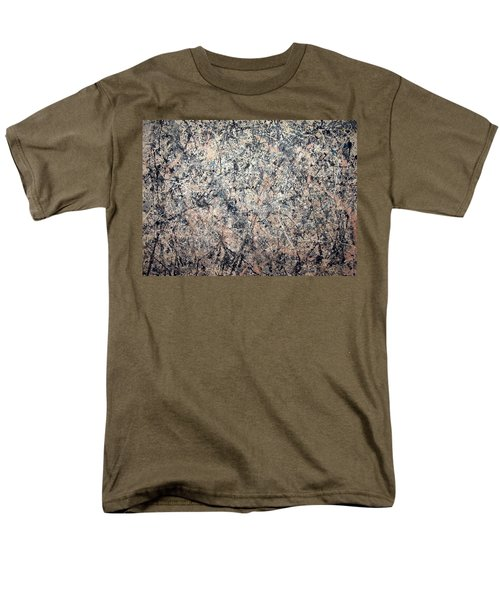 Pollock's Number 1 -- 1950 -- Lavender Mist Men's T-Shirt  (Regular Fit) by Cora Wandel