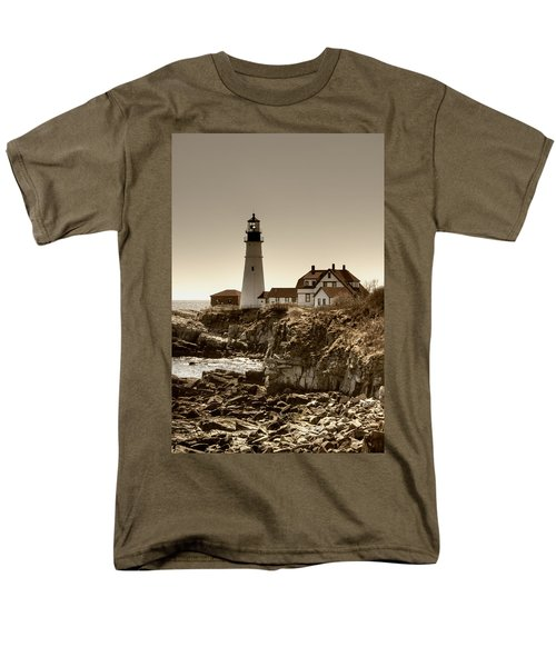 Portland Head Lighthouse T-Shirt by Joann Vitali