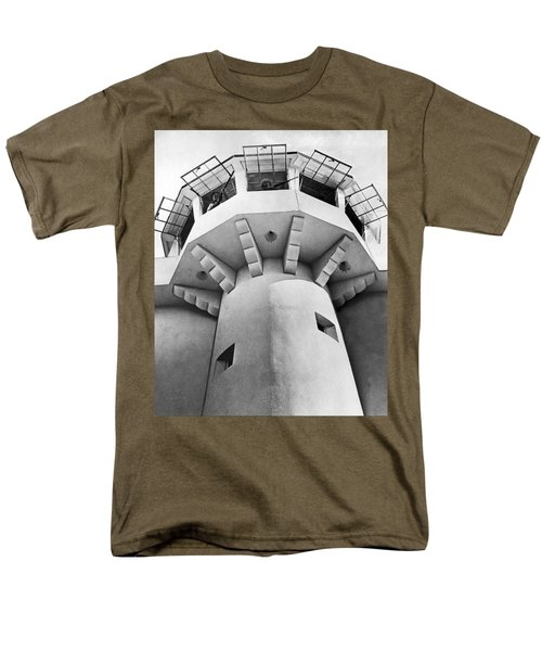 Prison Guard Tower Men's T-Shirt  (Regular Fit) by Underwood Archives