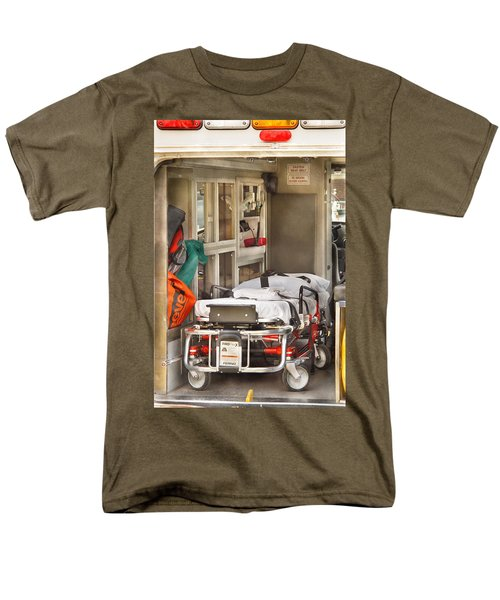 Rescue - Inside the Ambulance T-Shirt by Mike Savad