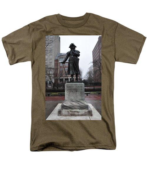 Robert Morris Financier of the American Revolution T-Shirt by Bill Cannon