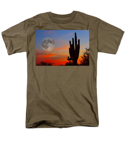 Saguaro Full Moon Sunset T-Shirt by James BO  Insogna
