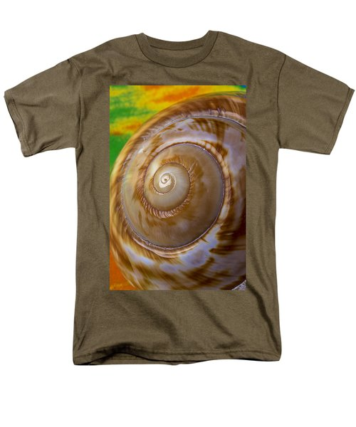 Shell spiral T-Shirt by Garry Gay