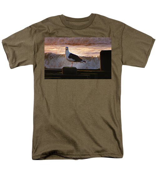 Sittin On The Dock Of The Bay Men's T-Shirt  (Regular Fit) by David Dehner