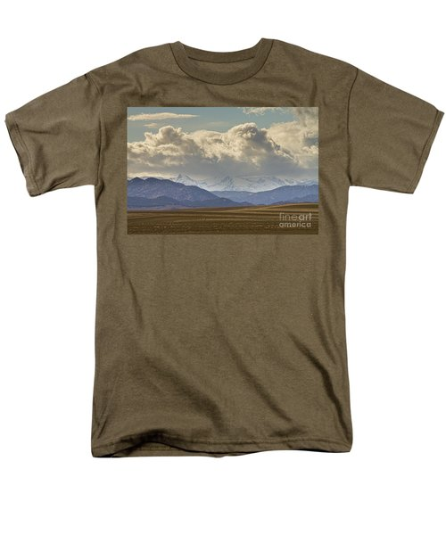 Snowy Rocky Mountains County View T-Shirt by James BO  Insogna