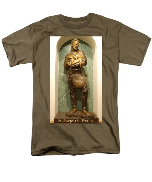 St Joseph the Worker T-Shirt by Philip Ralley