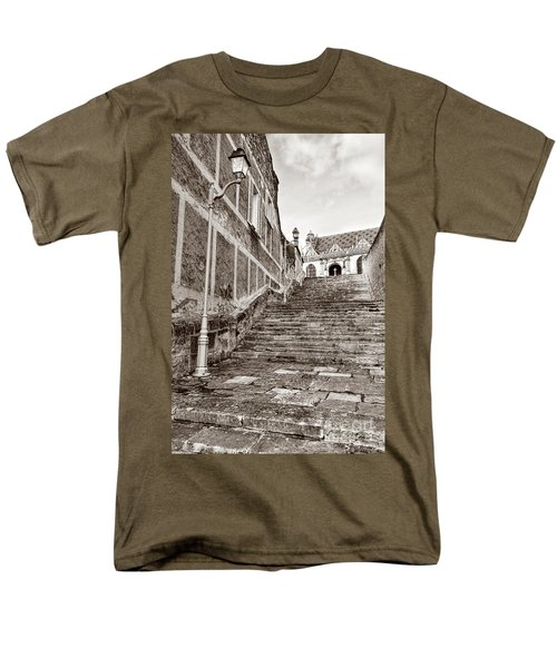 Stairway to Salvation  T-Shirt by Olivier Le Queinec