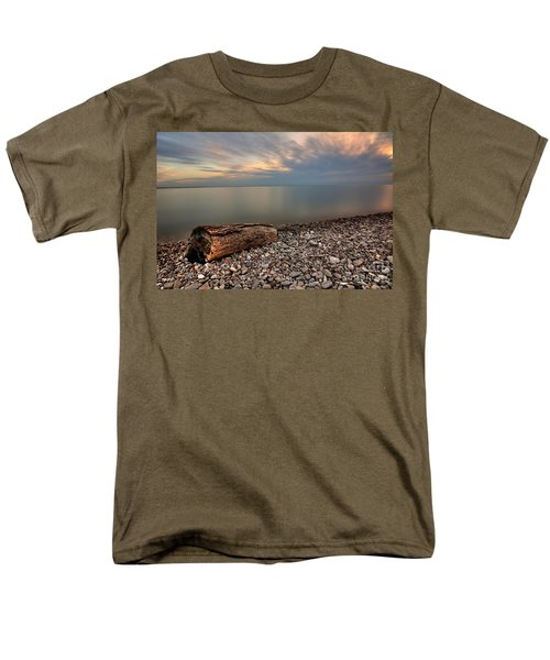 Stone Beach Men's T-Shirt  (Regular Fit) by James Dean