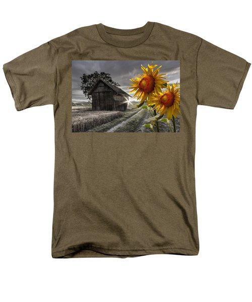 Sunflower Watch T-Shirt by Debra and Dave Vanderlaan