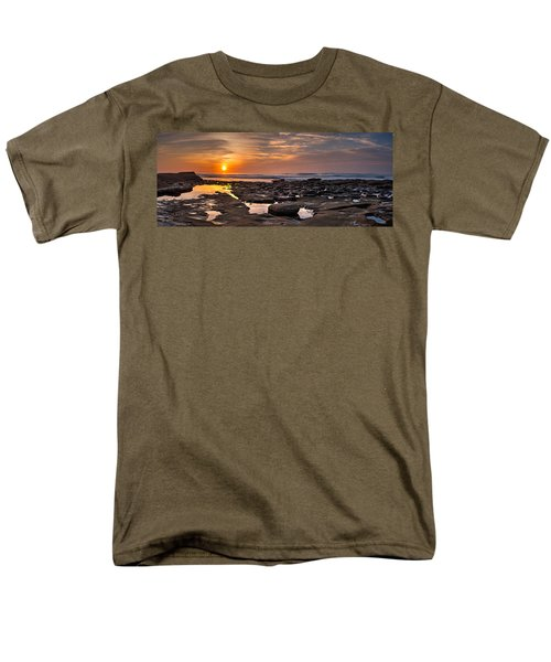 Sunset at the Tidepools II T-Shirt by Peter Tellone