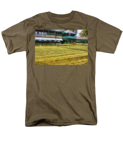 Tennis Hall of Fame - Newport Rhode Island T-Shirt by Michelle Calkins