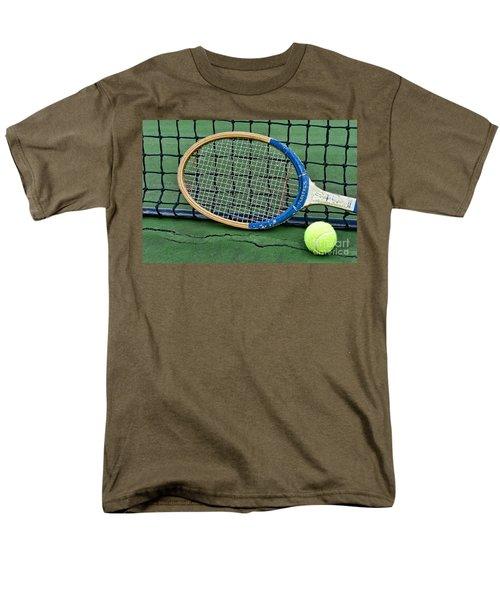 Tennis - Vintage Tennis Racquet T-Shirt by Paul Ward