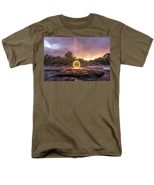The American River Orb T-Shirt by Lee Harland