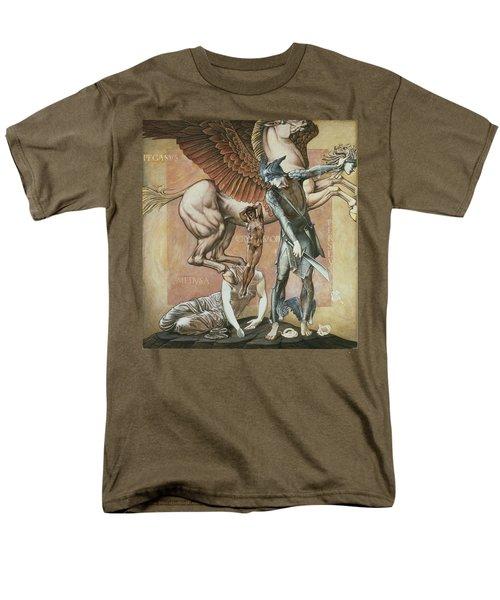 The Death Of Medusa I, C.1876 Men's T-Shirt  (Regular Fit) by Sir Edward Coley Burne-Jones