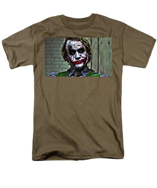 The Joker Men's T-Shirt  (Regular Fit) by Florian Rodarte