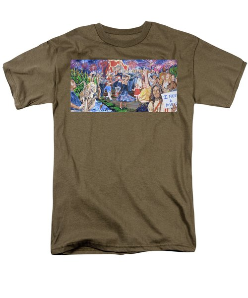 The Music Never Stopped T-Shirt by Bryan Bustard