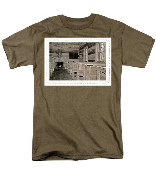 The Old Schoolhouse T-Shirt by Susan Leggett