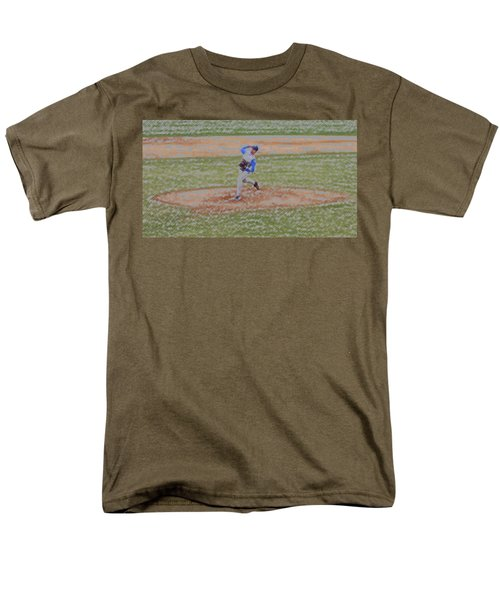 The Pitcher Digital Art T-Shirt by Thomas Woolworth