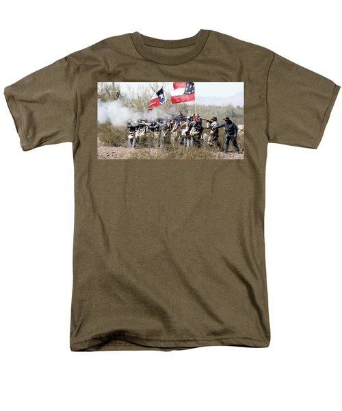 The Thin Gray Line T-Shirt by Joe Kozlowski