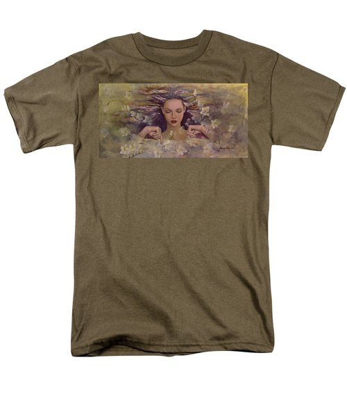 The voice of the thoughts T-Shirt by Dorina  Costras