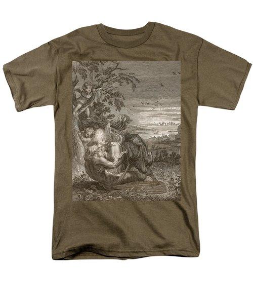 Tithonus, Auroras Husband, Turned Into A Grasshopper Men's T-Shirt  (Regular Fit) by Bernard Picart
