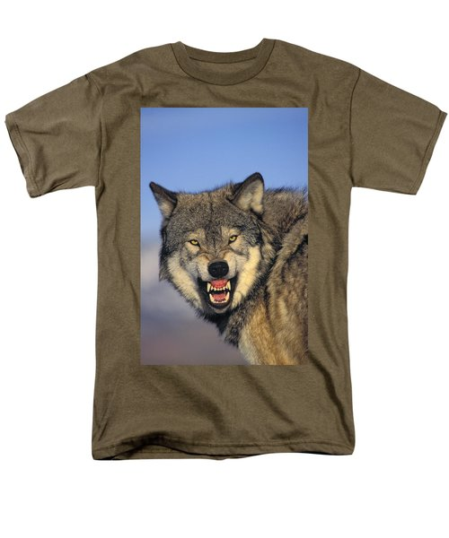T.kitchin Wolf Snarling T-Shirt by First Light