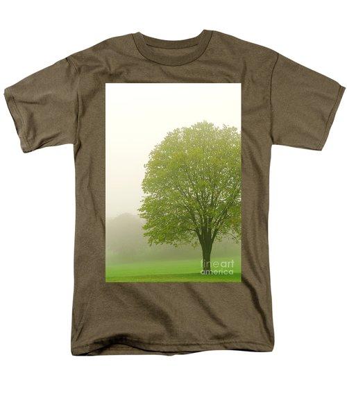 Tree in fog T-Shirt by Elena Elisseeva