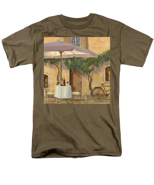 un ombra in cortile T-Shirt by Guido Borelli