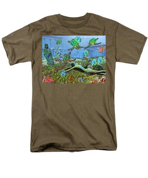 Under the Sea V T-Shirt by Betsy C  Knapp