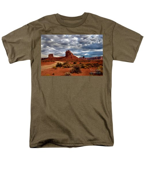 Valley of the Gods Stormy Clouds T-Shirt by Robert Bales