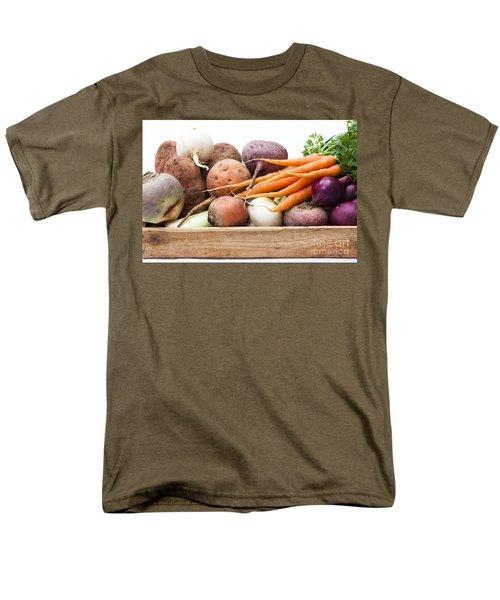 Veg Box Men's T-Shirt  (Regular Fit) by Anne Gilbert