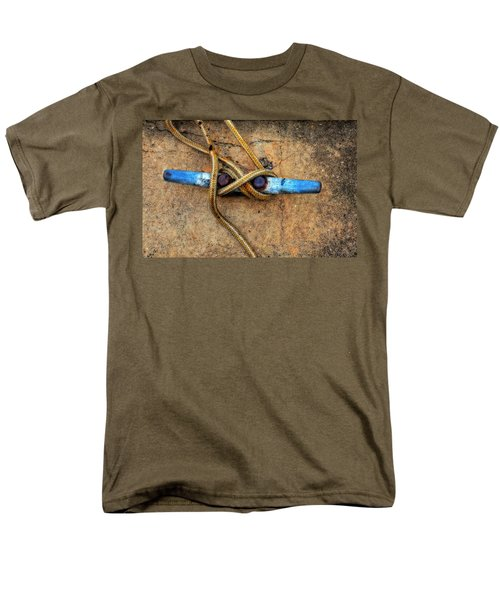 Waiting - Boat Tie Cleat By Sharon Cummings T-Shirt by Sharon Cummings