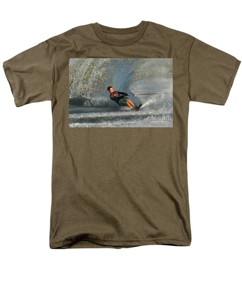 Water Skiing Magic of Water 13 T-Shirt by Bob Christopher