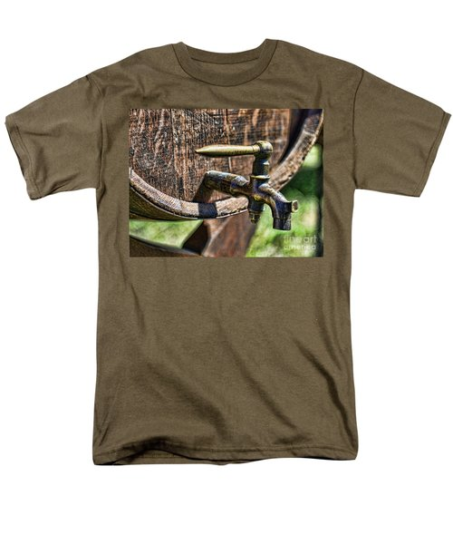 Weathered tap and barrel T-Shirt by Paul Ward