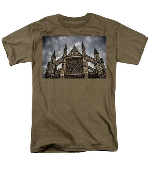 Westminster Abbey Men's T-Shirt  (Regular Fit) by Martin Newman