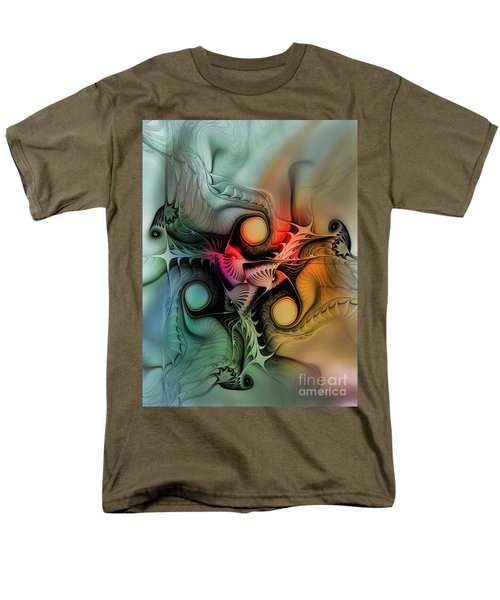 Whirlpool-Abstract Art T-Shirt by Karin Kuhlmann