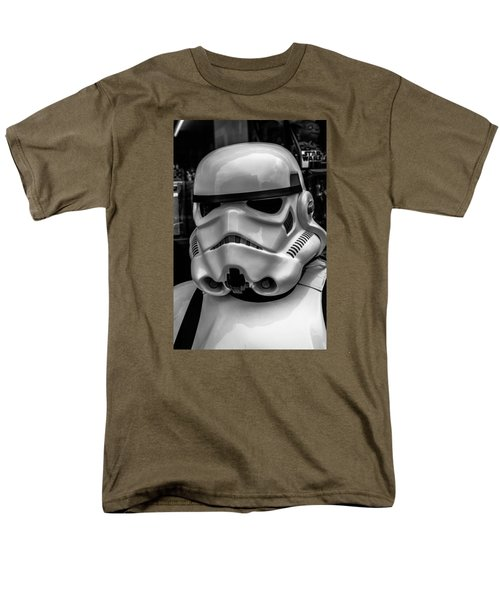 White Stormtrooper T-Shirt by David Doyle