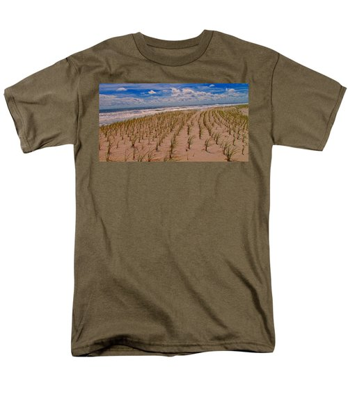Wildwood Beach Breezes  Men's T-Shirt  (Regular Fit) by David Dehner