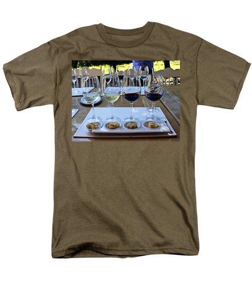 Wine and Cheese Tasting T-Shirt by Kurt Van Wagner