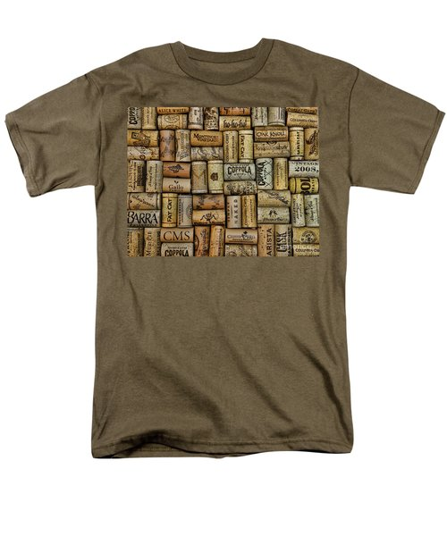 Wine Corks after the Wine Tasting T-Shirt by Paul Ward