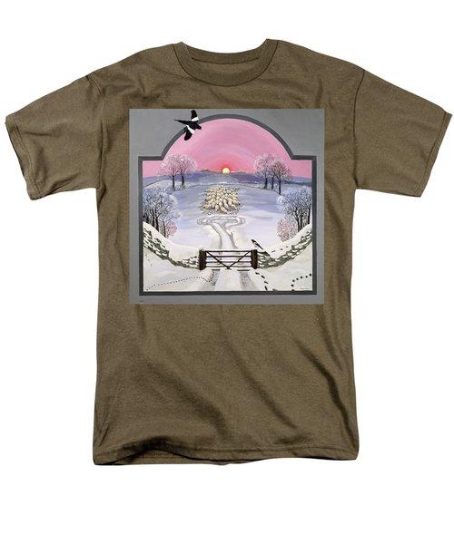 Winter Men's T-Shirt  (Regular Fit) by Maggie Rowe