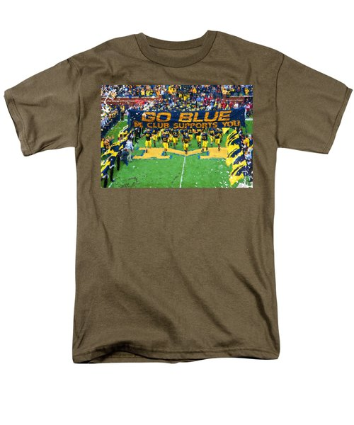 Wolverines Rebirth Men's T-Shirt  (Regular Fit) by John Farr