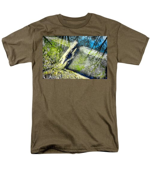 Wood Reflections T-Shirt by Olivier Le Queinec